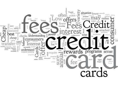 Cheap Credit Cards Help to Leave Fees Behind