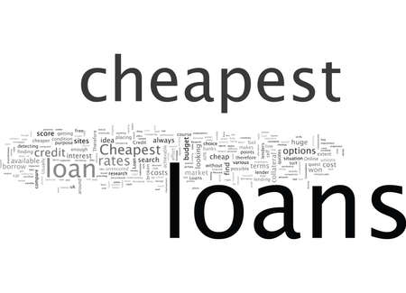 Cheapest loans when cheap loans are not good enough Illustration