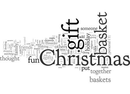 Christmas Gift Baskets Can Be A Great Gift Idea Reklamní fotografie - 132217316
