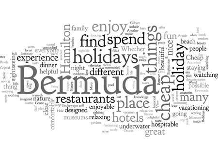 Cheap Holidays To Bermuda
