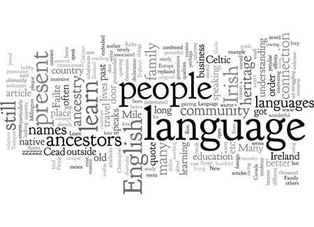 Connectez-vous avec vos racines Apprenez votre langue familiale