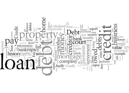 Debt a Glossary of Terms