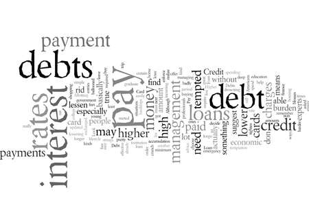 Debt management what you should know Фото со стока - 132217649