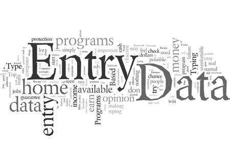 Data Entry From Home For Money