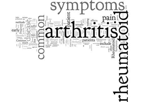 Common Symptoms for Rheumatoid Arthritis Çizim