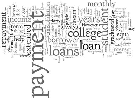 Consolidate Student Loans Debt and Be in the School You Want
