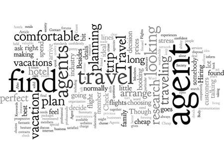 Contact A Travel Agent About Cheap Flights 일러스트
