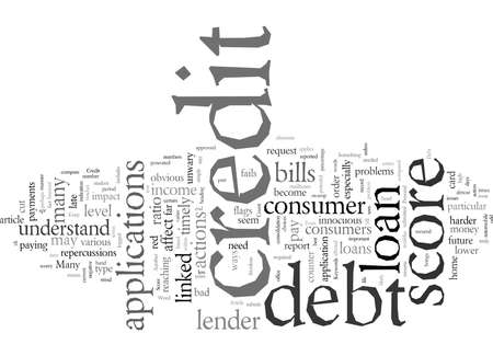 Debt And Your Credit Score