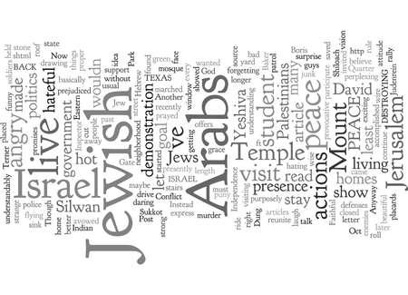 conflicto en jerusalén