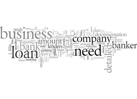 Debt Of A Business Vektorové ilustrace