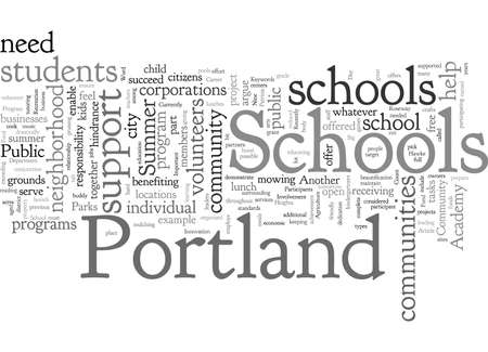Community Involvement Important For Portland Schools