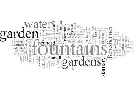 Decorative Gardens and Garden Fountains of the Cistercians