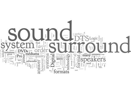 Common Surround Sound Formats
