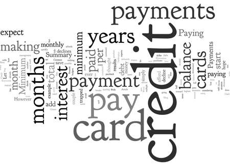 Constant Credit Card Payments