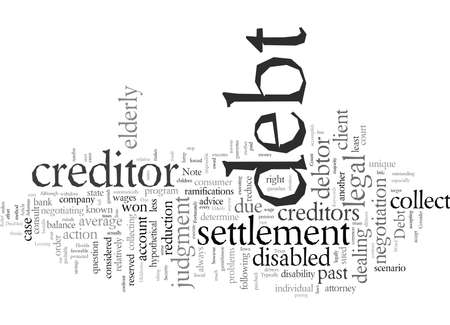 Debt Relief For The Elderly And The Disabled