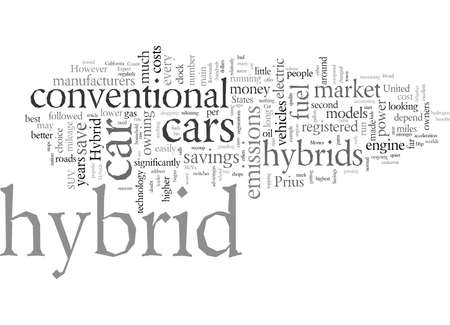 Cut Emissions And Save Money With A Hybrid Car Stok Fotoğraf - 132217987