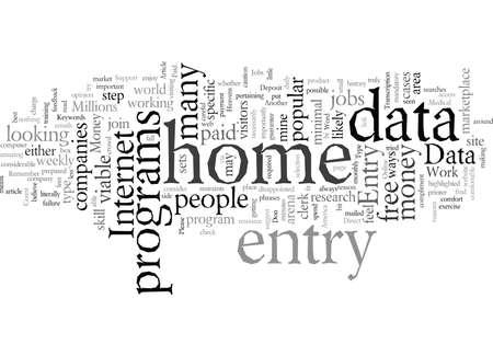 Emplois de saisie de données à domicile