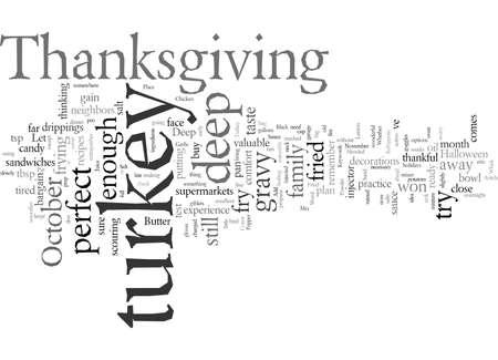 Deep Fried Turkey Practice Imagens - 132218088