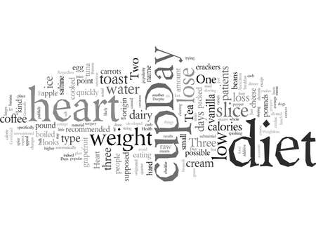 Day Heart Diet Can You Find Health And Weightloss In Just Days Vectores
