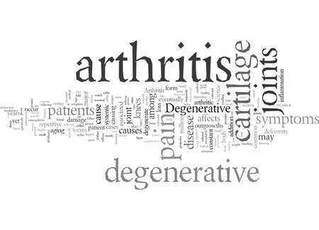 Degenerative Arthritis Illustration