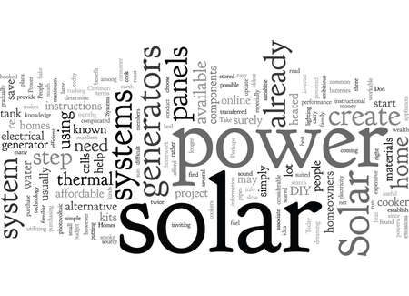 Common Solar Power Systems for Homes