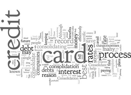 Consolidate Credit Card Debt Explained