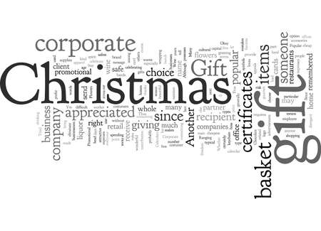 corporate christmas gift Illustration