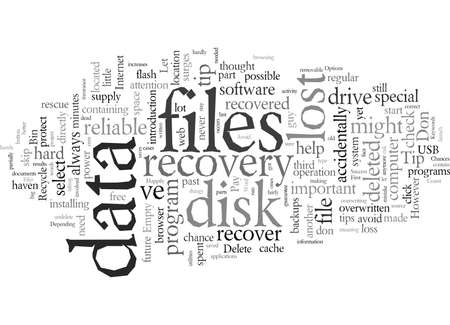 Data Recovery First Aid Tips To Increase Your Chances Of Success