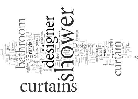 Designer Shower Curtains a Classy Way to Enhance Your Bathroom