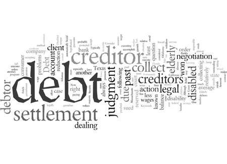 Riduzione del debito per anziani e disabili