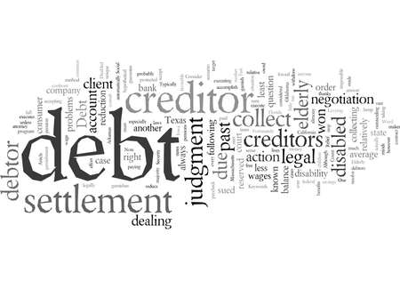 Debt Relief for the Elderly and Disabled
