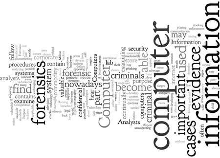 computer forensics purpose 向量圖像