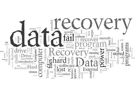 Data Recovery Programs What To Look For