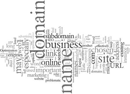 Domain Names For A Single Word World