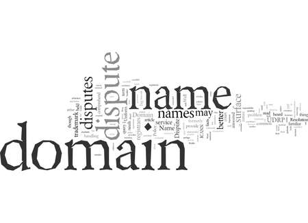 Domain Name Dispute How Do You Do It