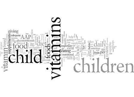 Does your child need children s vitamins Illustration