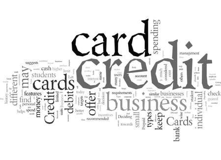 Different Types Of Credit Cards Çizim