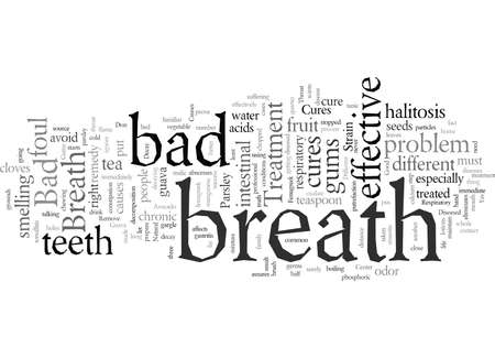 Different Bad Breath Cures