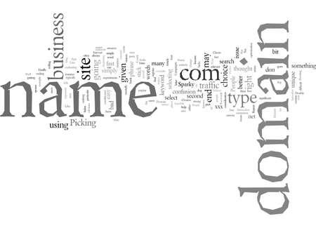 Domain Name How To Pick One 版權商用圖片 - 132110599