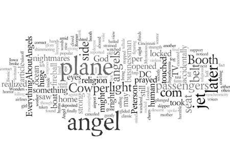 ¿Tienes un ángel de la guarda de EverythingAboutAngels com Ilustración de vector