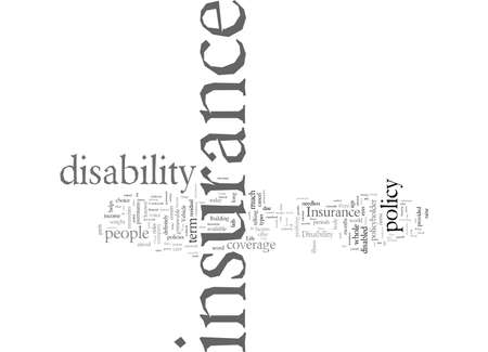 Disability Insurance Things To Remember