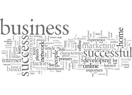 Do You Have The Right Stuff For Home Based Business Success