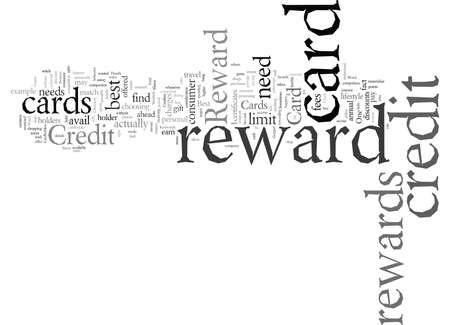 Does a Reward Credit Card Fleece You or Reward You Vektorgrafik