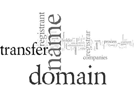 Domain Name Transfer What Is It And How To Do It 版權商用圖片 - 132109148