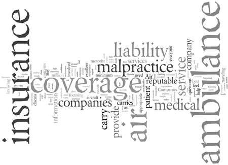 Do Air Ambulance Service Companies Carry Insurance