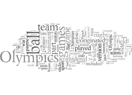 Discontinued Sports in Olympics