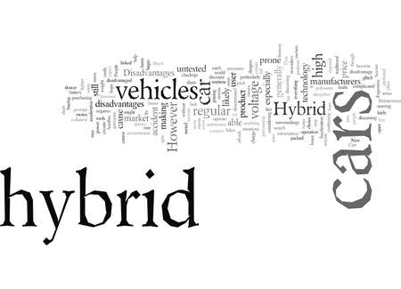 disadvantages of hybrid cars