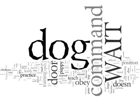 Dog Obedience A Quick and Easy Way To Train Your Dog to Obey The WAIT Command