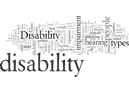 Different Disability Types