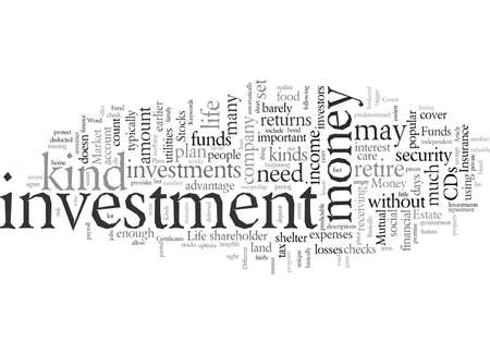 Different Kinds Of Investments
